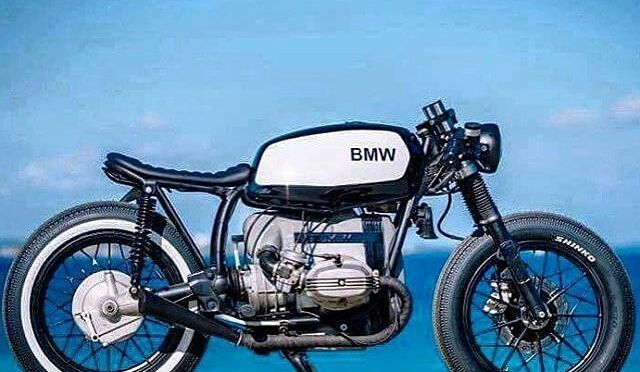 #BMW R45 by Relic Motorcycles @relicmotorcycles . #caferacer #caferacers #caferacersofinstagram #caferacersculture #caferacerbuilds #vintage #vintagestyle #vintagefashion #motocycle #moto #motos #motorcycles #oldstyle #oldschool #bratstyle #motorbike #motor #helmet