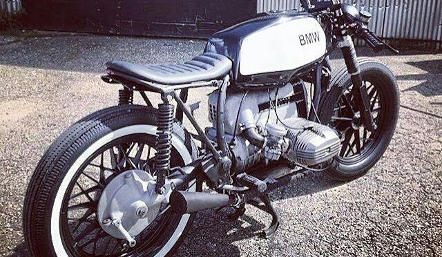 #R45 builds in @bubba.cc . #caferacer #caferacers #caferacersofinstagram #caferacersculture #caferacerbuilds #vintage #vintagestyle #vintagefashion #motocycle #moto #motos #motorcycles #oldstyle #oldschool #bratstyle #motorbike #motor #helmet