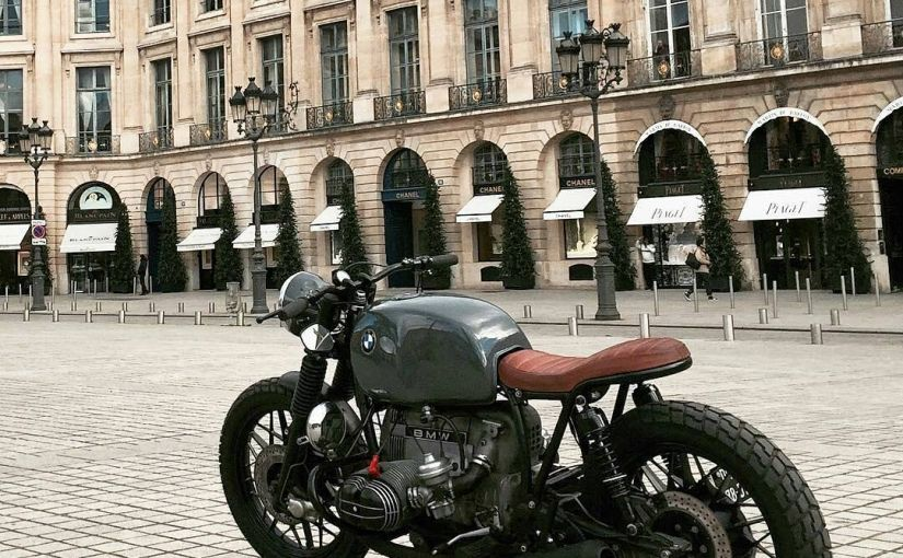 By @epicurial_motorcycle –  Diamonds are forever. Bikes are not. And that's why we love them