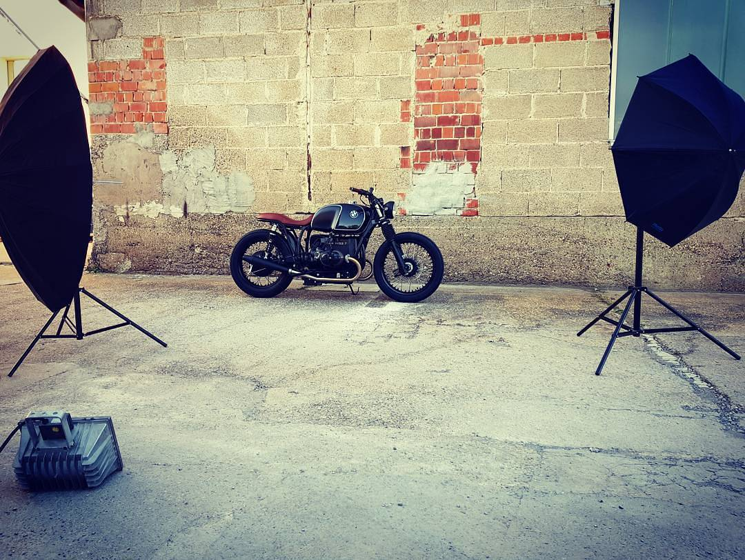 By@mellowmotorcycles / Our brandnew Mellow Motorcycles 'Perlanera' is ready for shooting…stay tuned