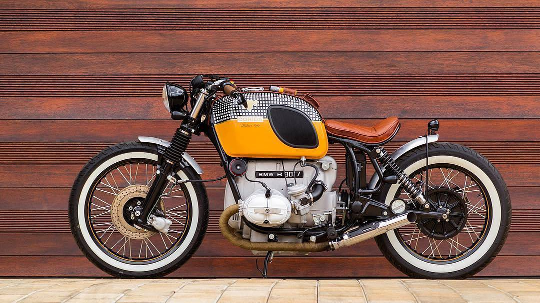 By @cytech_motorcycles COHIBA cigar inspired bobber build. Image credit @eduannaudeprojects#bike#boxer#beemer