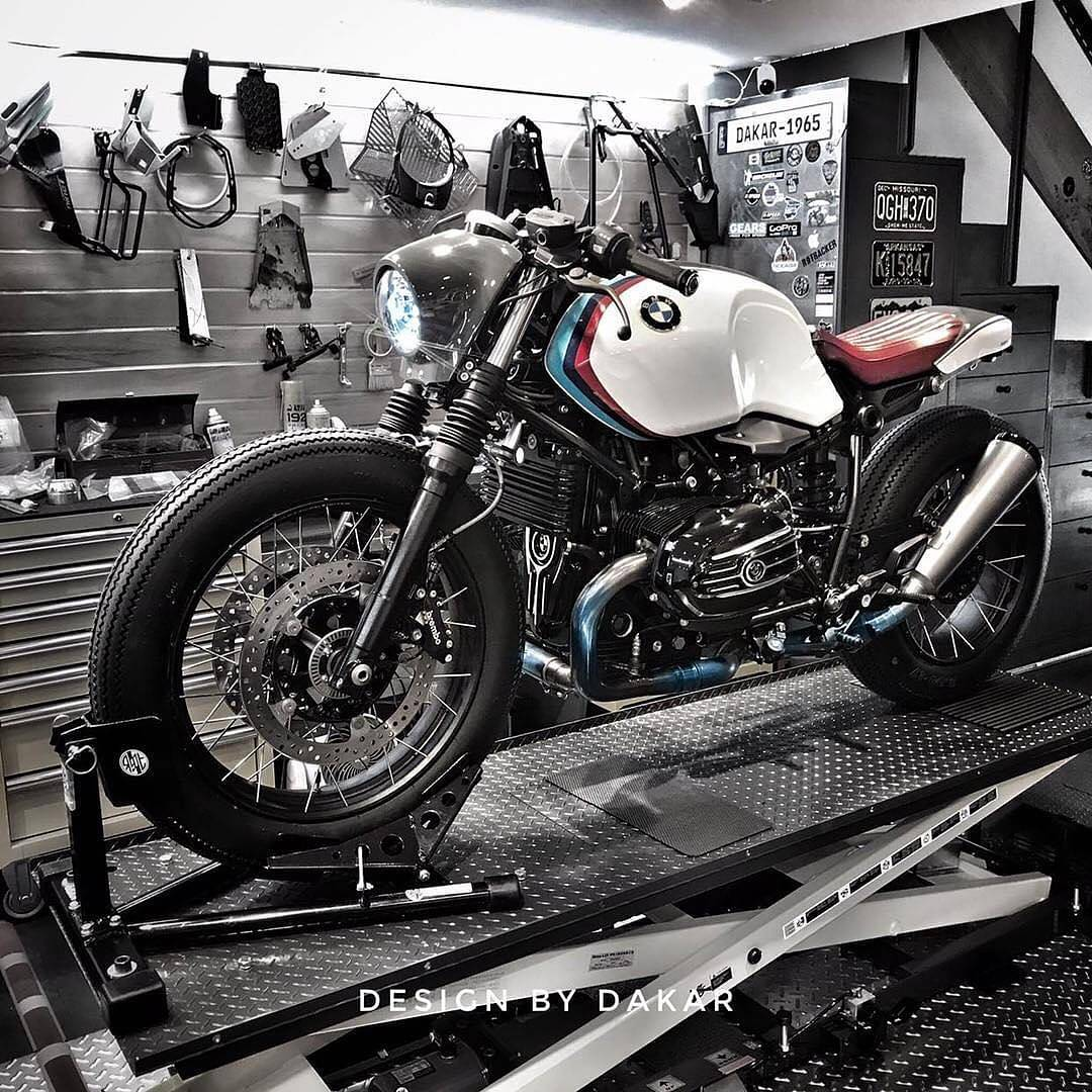 By  @bcn_caferacers ✖️R nineT ✖️ By @dkdesign_usa