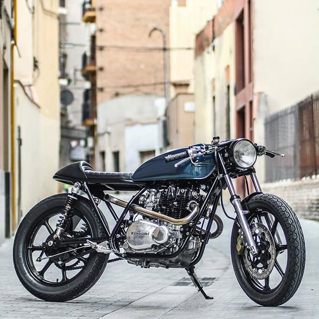 Kawasaki KZ400 by @kooltcreations