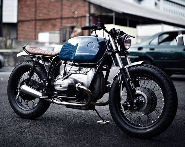 BMW R75/7  by @clutchmotorcycles