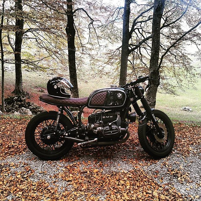 BMW R100 by @dani_tower