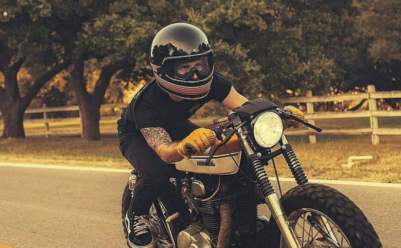@johnnywhitesa and his CB 350 Cafe Racer build