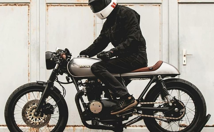 Honda CB500 Cafe Racer by @kaspeed.moto
