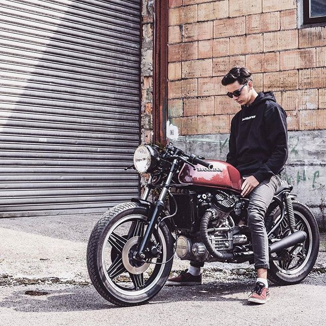 Honda CX500 by @crookedcaferacer