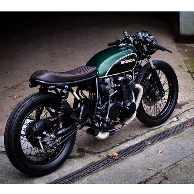Honda CB550 Four by @paalmotorcycles #1975